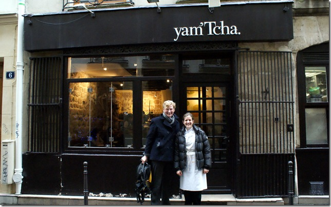 Tcha Paris our lovely lunch at yamtcha - liz and richard 2011 paris, venice and